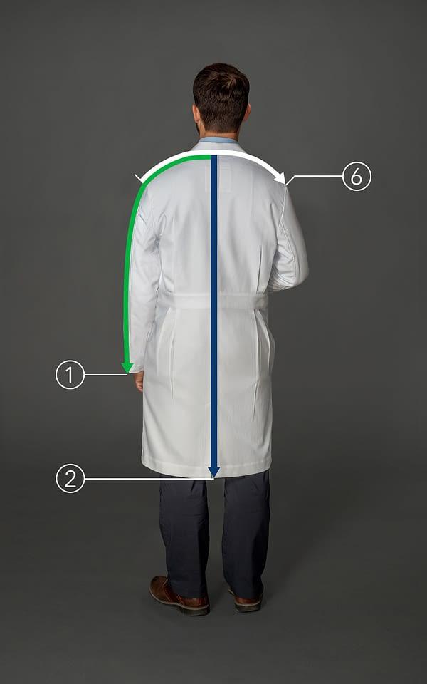 Customized long coat for men