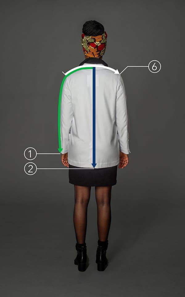Customized short coat for women